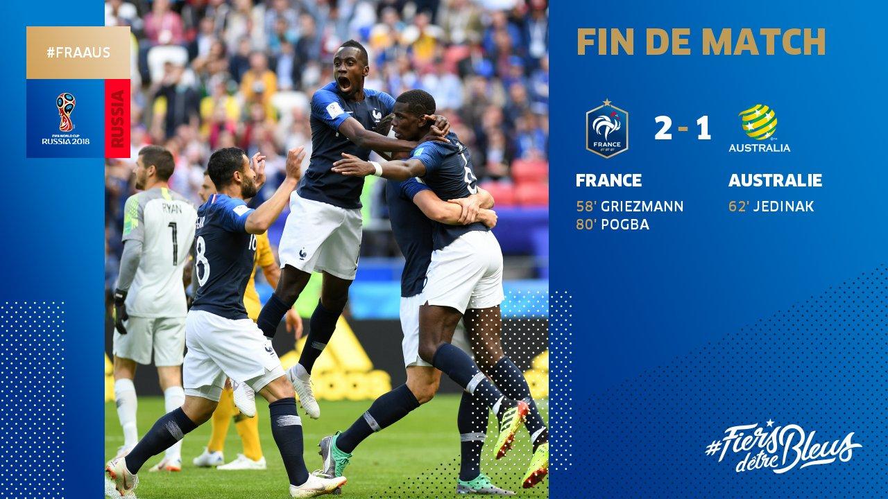 Crédit Photo: Equipe de France / Twitter