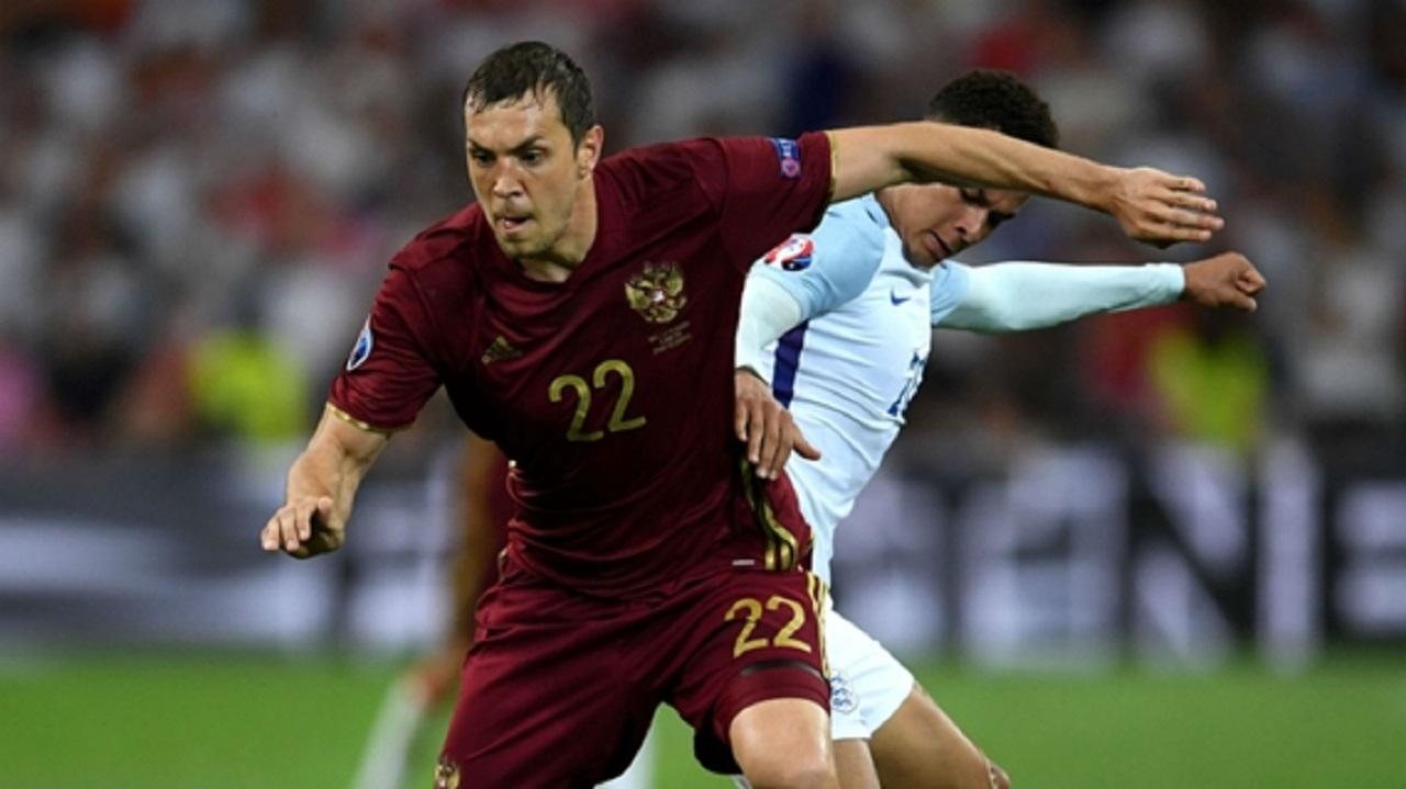 Russia striker Artem Dzyuba.