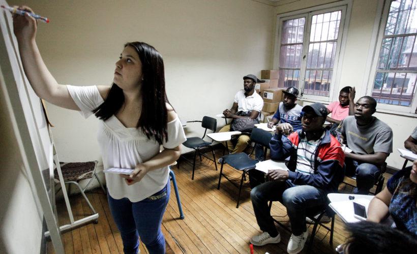 Le geste classe d'une université mexicaine envers les Haïtiens