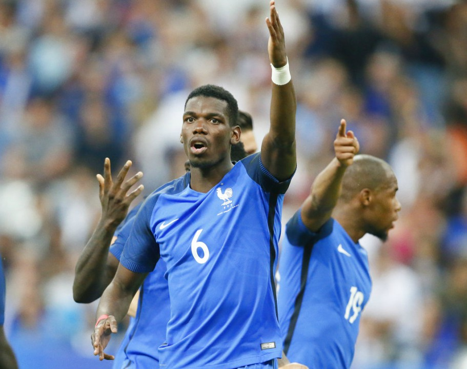 Paul Pogba of Manchester United and France is among the European football stars who will feature in this year's World Cup.
