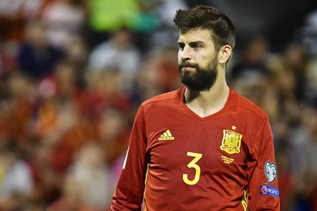 Gerard Piqué / Photo:  Presse Sports