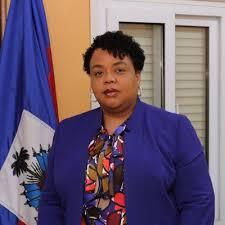 Marie Gréta Roy Clément, ministre de la Santé Publique/Twitter CP