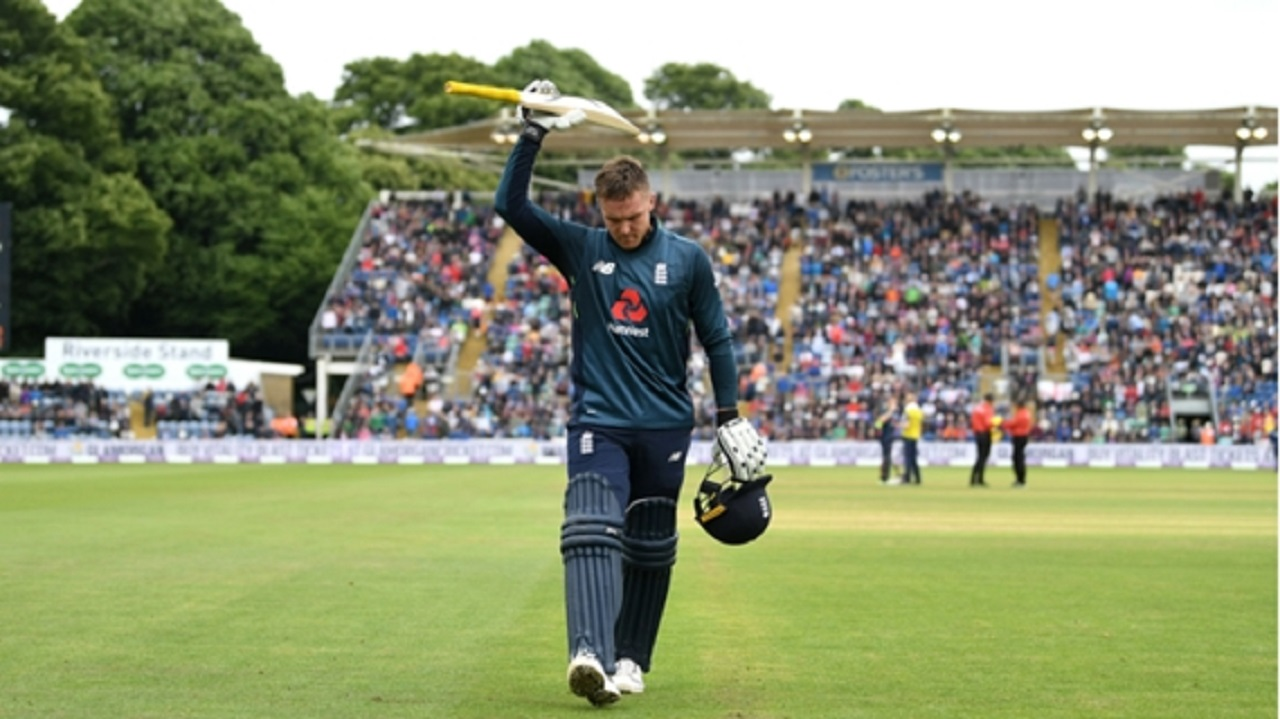 England's Jason Roy.
