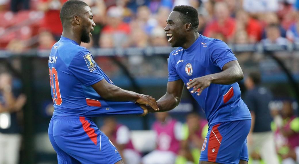 Haïti gagne 4 places dans le classement FIFA. Photo: sportsnet.ca