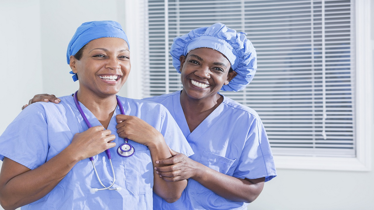 Stock photo of nurses.