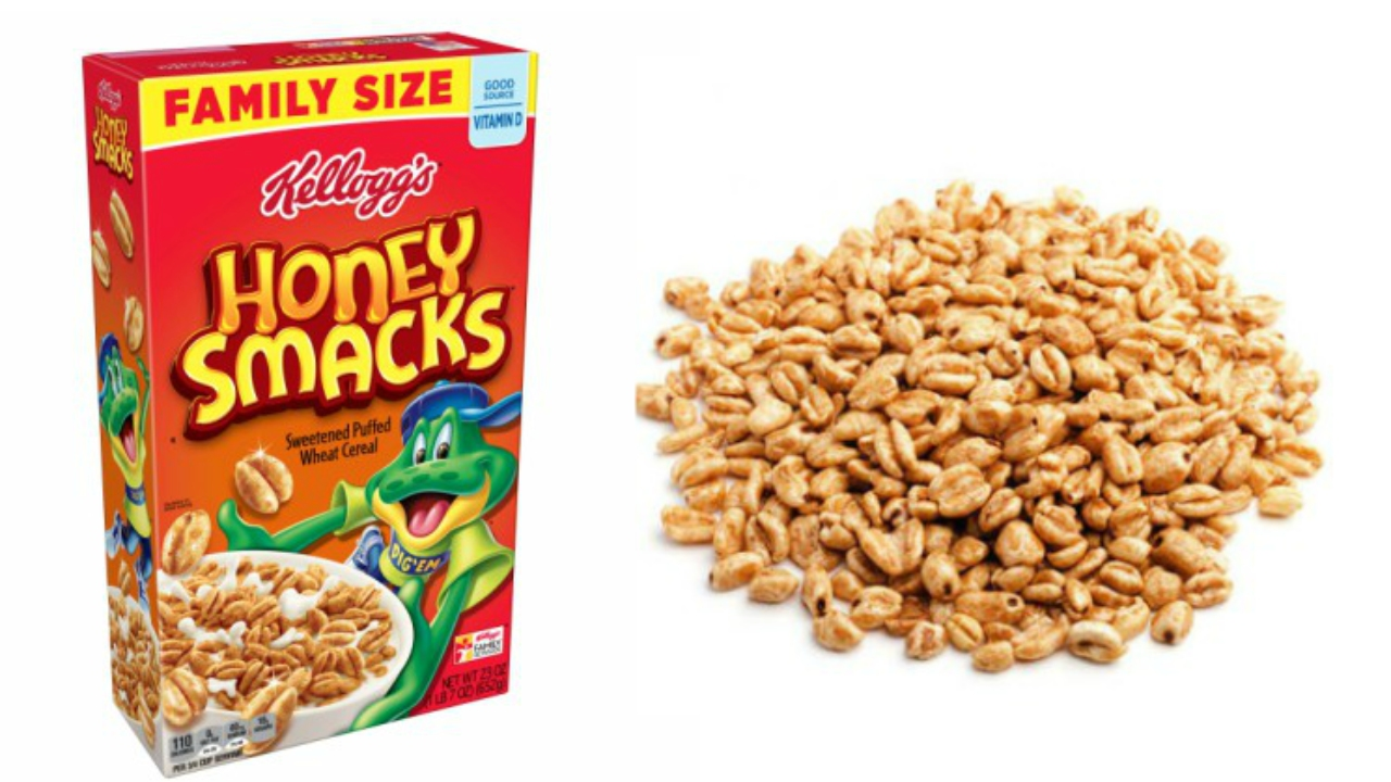 All Kellogg's Honey Smacks cereals recalled