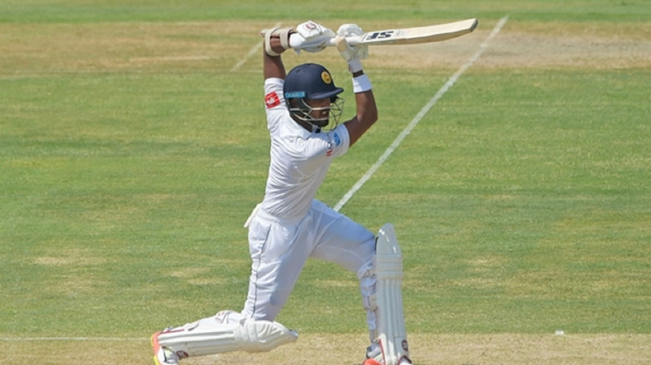 Sri Lanka captain Dinesh Chandimal.