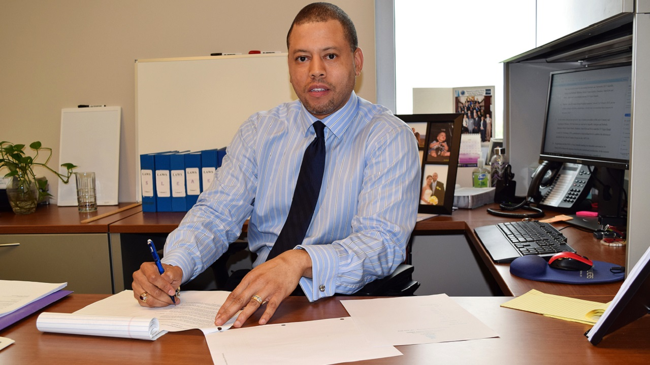 (Image: Andre Ebanks, in photo supplied by government)