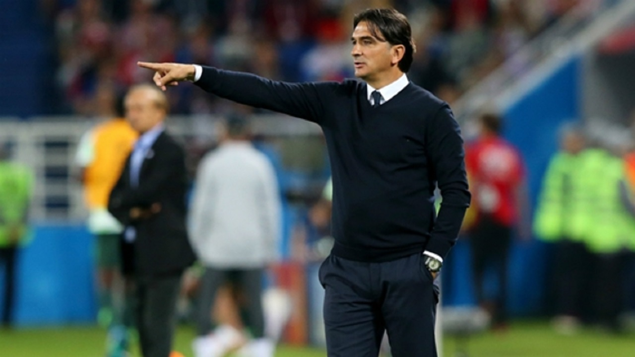 Croatia head coach Zlatko Dalic.