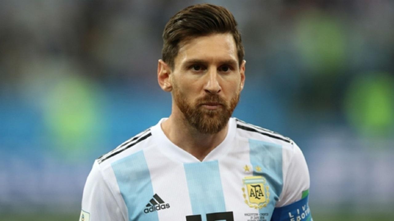 Argentina captain Lionel Messi.