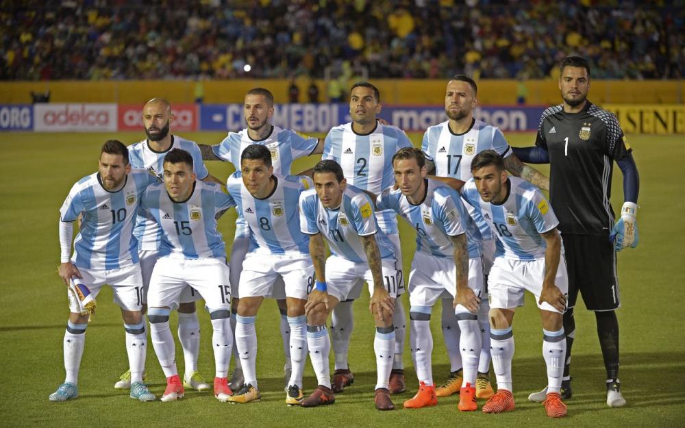 Fiche de la sélection argentine. (crédit photo : AFP)