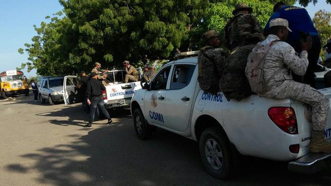 576 Haïtiens arrêtés par l'armée dominicaine