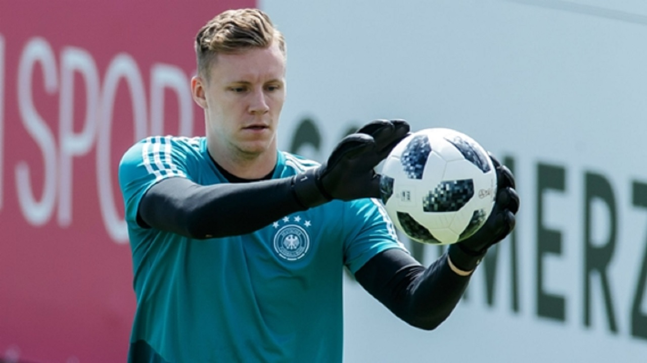 New Arsenal signing Bernd Leno.