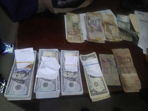 Un Haïtien arrêté avec une somme importante d'argent en RD