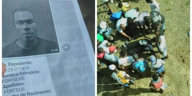 RD: Un Haïtien se jette du pont Massacre pour fuir les Dominicains. Photo: El masacre.com