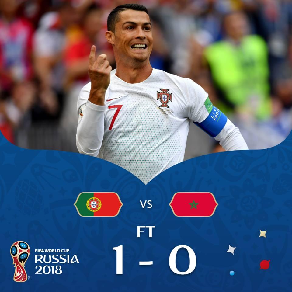 Le buteur Portugais, Cristiano Ronaldo. Photo de la FIFA