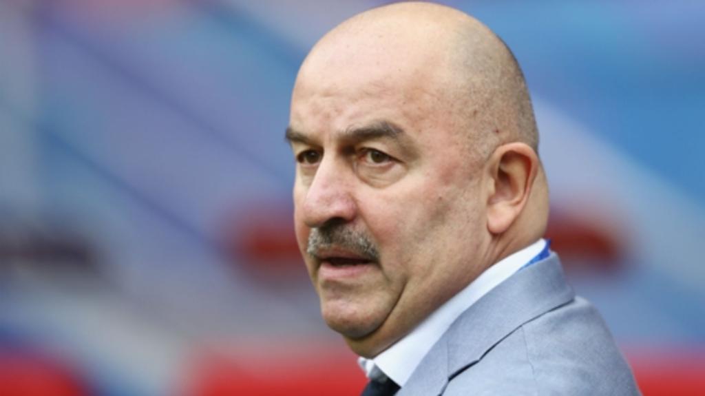Russia coach Stanislav Cherchesov