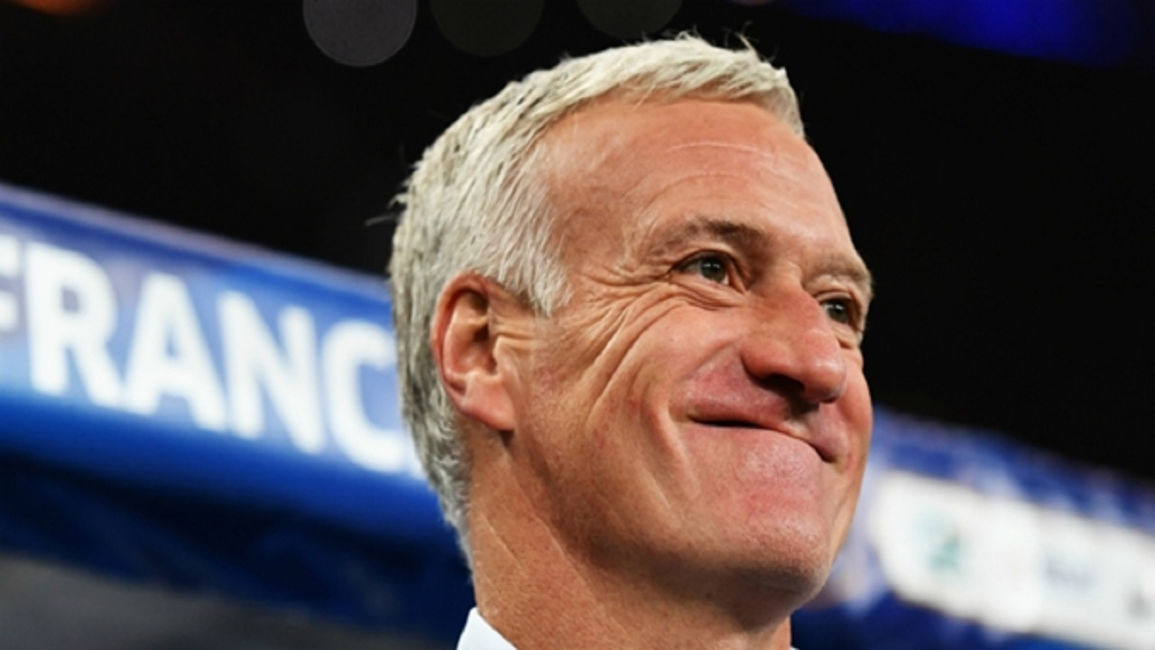 France coach Didier Deschamps.