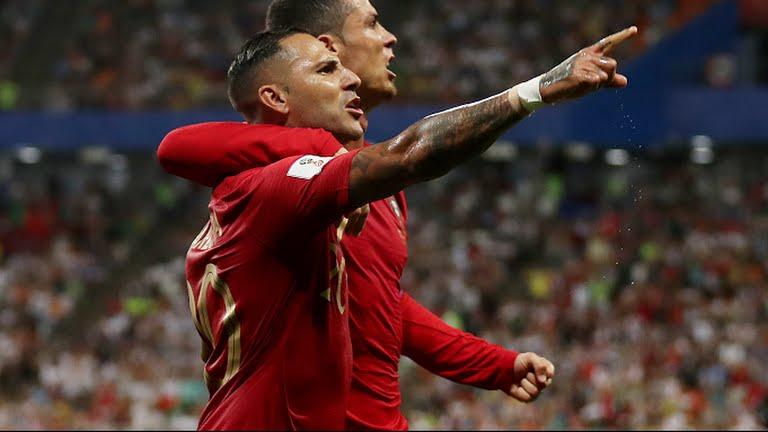 Quaresma et Cristiano Photo de la FIFA