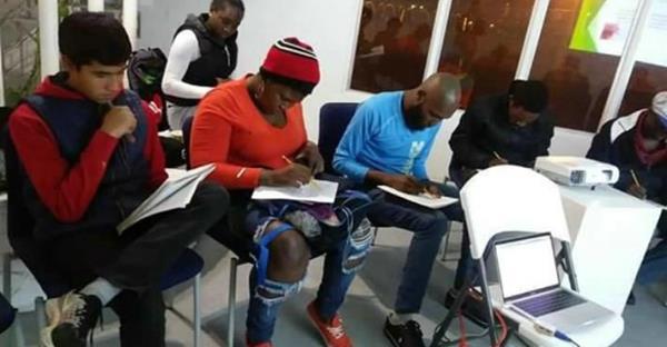 Mexique: Des Haïtiens victimes de racisme pour avoir passé leur examen. Photo: San Diego Red