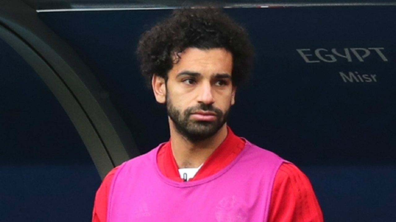 Egypt forward Mohamed Salah.