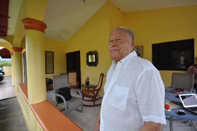 La vie que menait Henry Namphy en République Dominicaine. Photo: Listin Diario