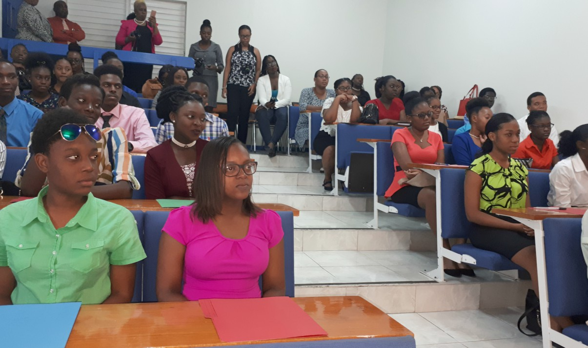 Participants in the Summer Work Experience Program workshop.