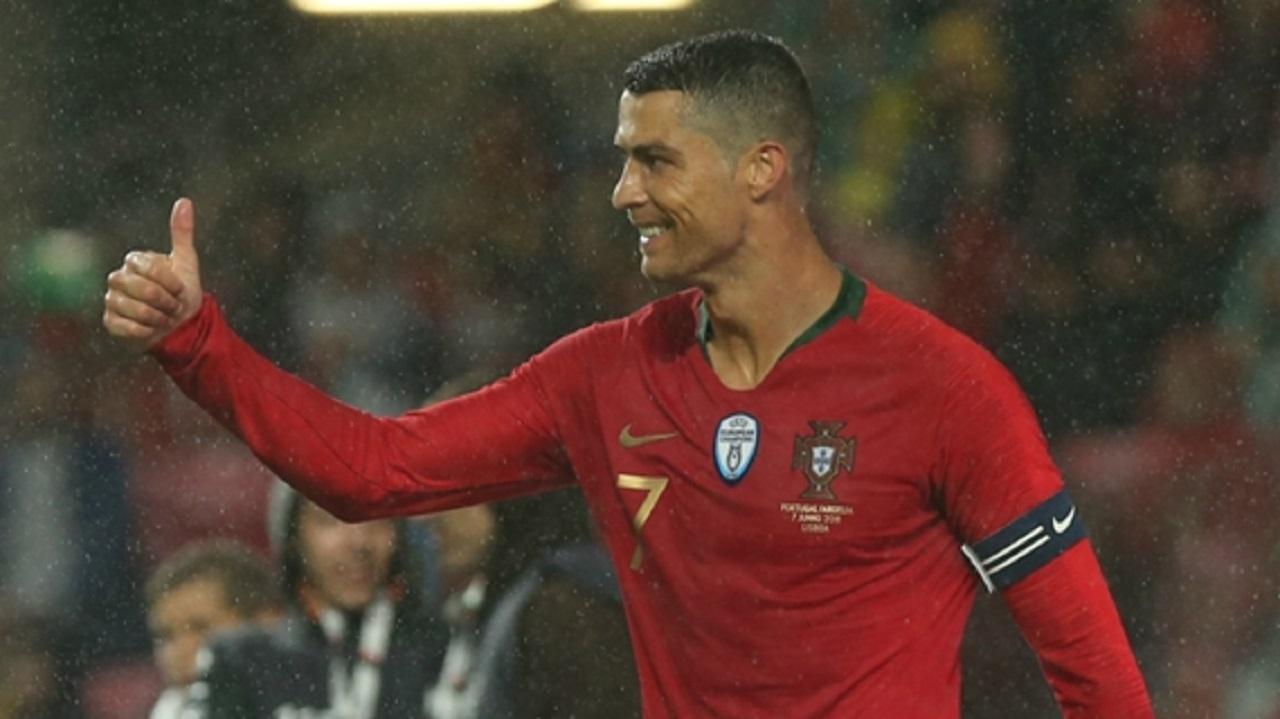 Portugal and Real Madrid star Cristiano Ronaldo.