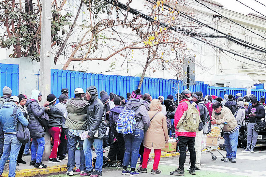 L'ambassade d'Haïti au Chili va renforcer son siège diplomatique. Photo: La Tercera
