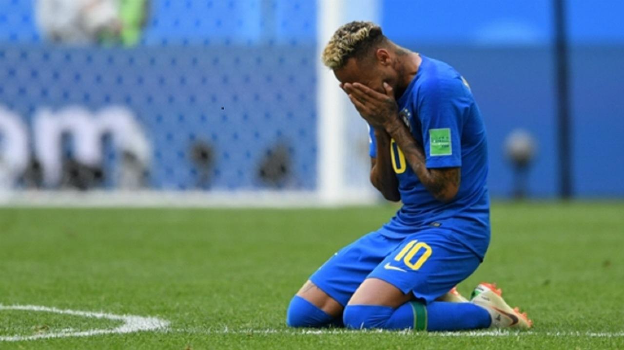 Brazil striker Neymar.