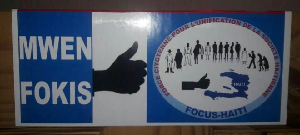 Logo : Focus Haiti  Crédit : Page Facebook Focus Haiti.