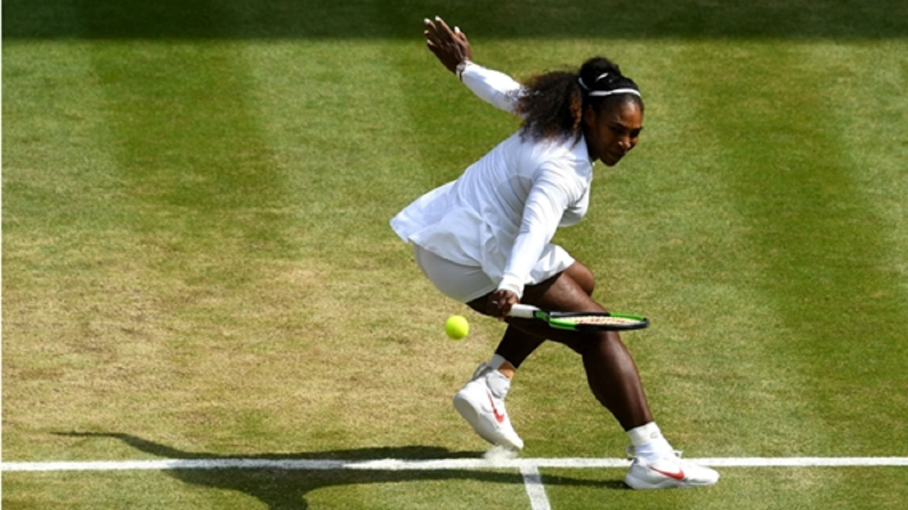 Seven-time Wimbledon champion Serena Williams.