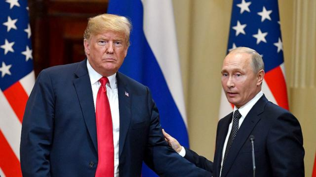 White House struggles to contain political outcry over Trump-Putin summit