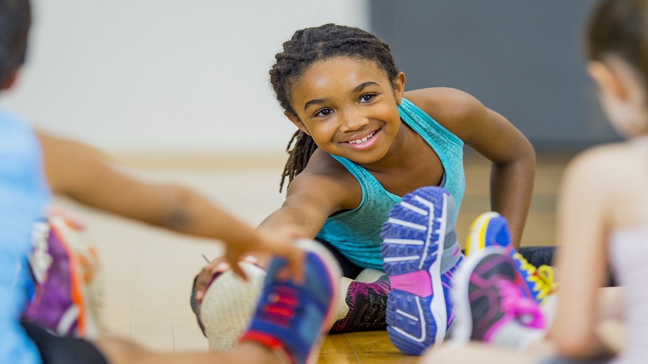 Stock image of a child exercising. (PHOTO: iStock)