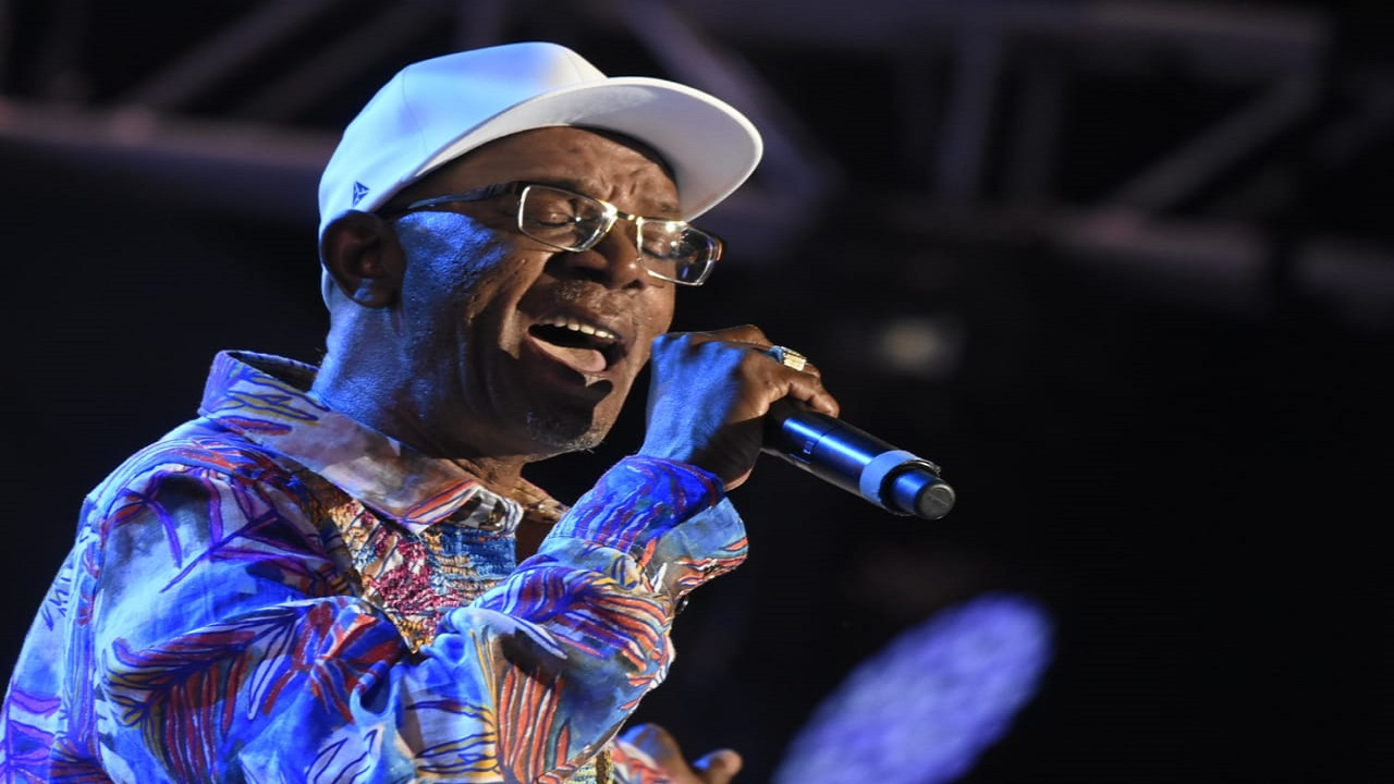 Beres Hammond performs at Sumfest 2018 on Sunday morning. (PHOTOS: Marlon Reid)