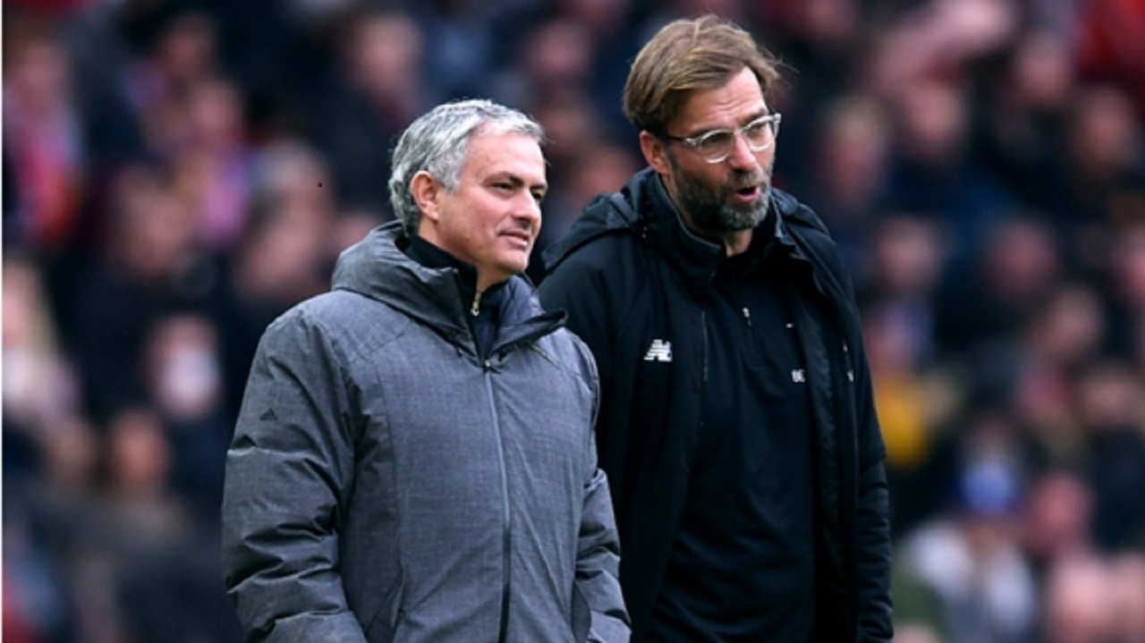Jose Mourinho and Jurgen Klopp.
