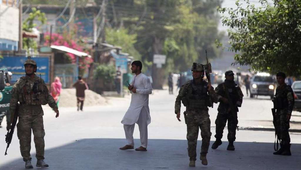 Jalalabad: 'Gun battle under way' after blast in east Afghanistan