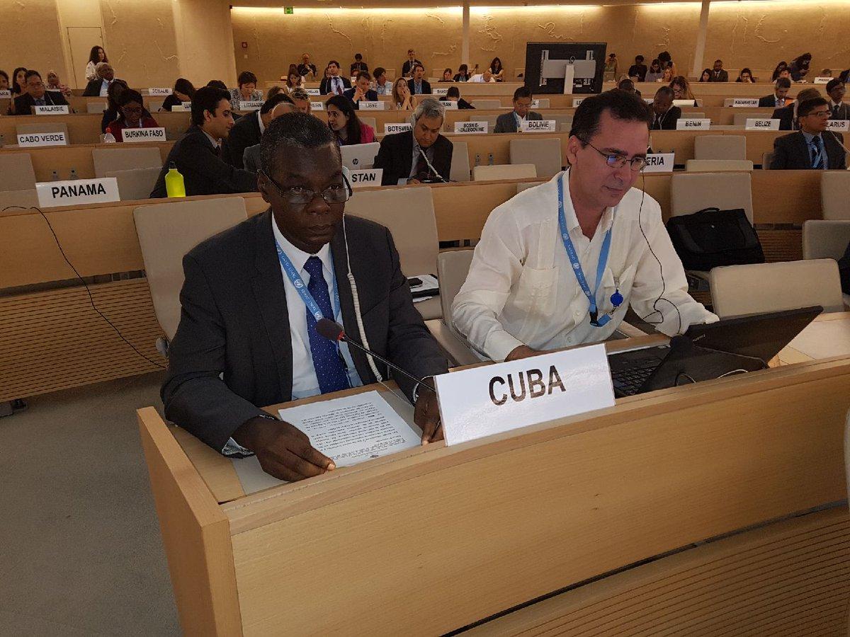 Cuba renouvelle son engagement d'accompagner Haiti. Photo: Twitter