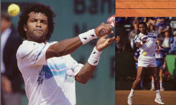 Considéré comme le meilleur joueur haïtien à avoir pratiqué le Tennis, Ronald Agénor atteindra désormais le Hall of Fame des tennismen noirs. Photo: Alchetron