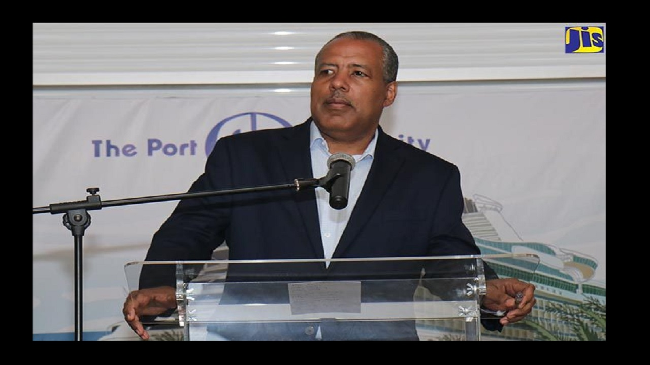 Professor Gordon Shirley, President and CEO of the Port Authority of Jamaica. Photo via JIS.
