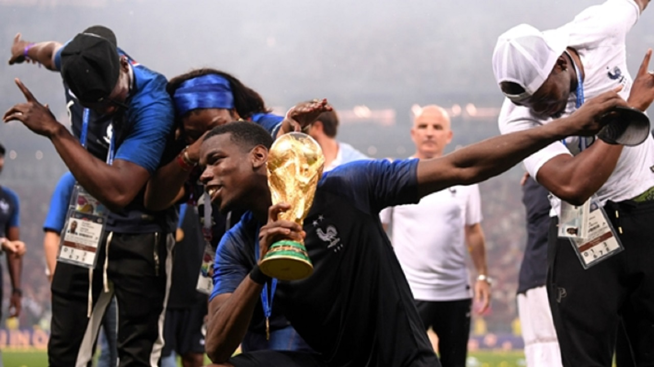France midfielder Paul Pogba.
