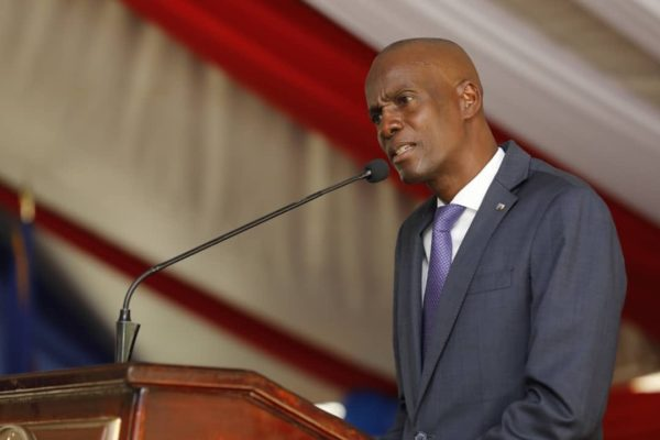 Le président Jovenel Moise promet de faire arrêter les saboteurs
