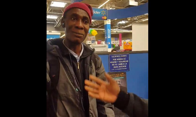 Walmart s'excuse auprès d'un Haïtien humilié par l'un de ses agents. Photo: el Desconcierto