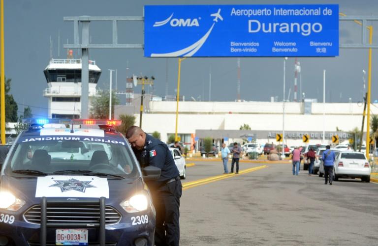Un avion s'est écrasé à l'aéroport de Durango, dans le nord du Mexique, le 31 juillet 2018