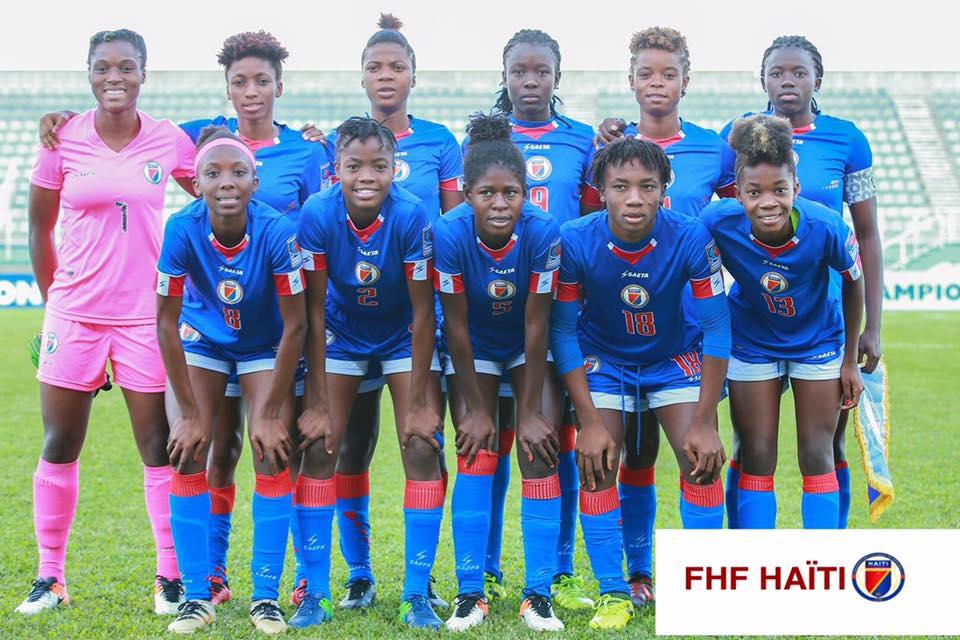 La sélection haïtienne des moins de 20 ans. Photo de la FHF