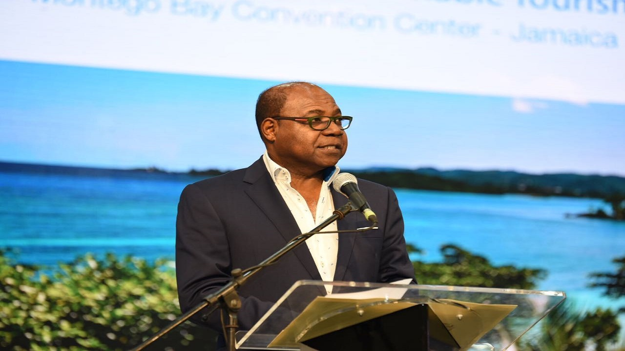 Jamaica's Tourism Minister Minister Bartlett pointed out that the Caribbean is vulnerable to external shocks.