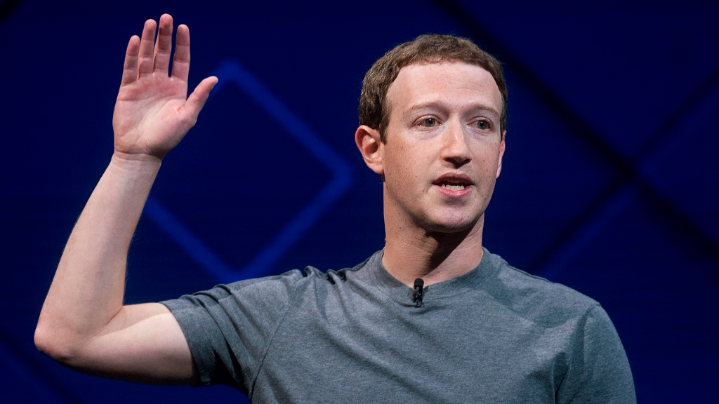 (Image: AP: File image of Mark Zuckerberg, pictured on 18 April 2017)