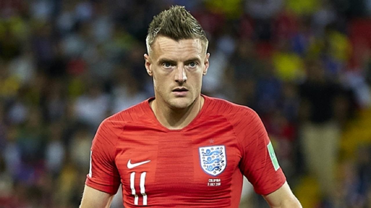 England striker Jamie Vardy.