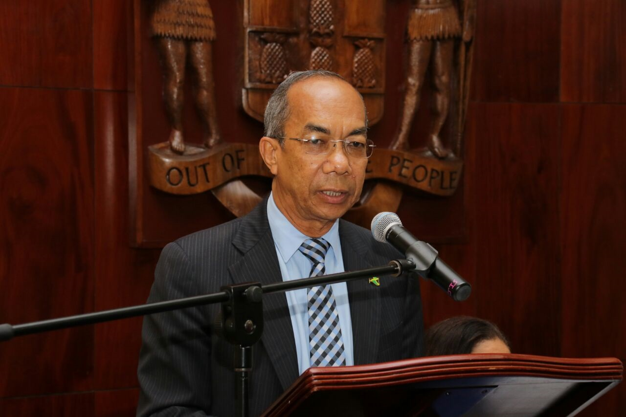 Minister of National Security, Dr Horace Chang