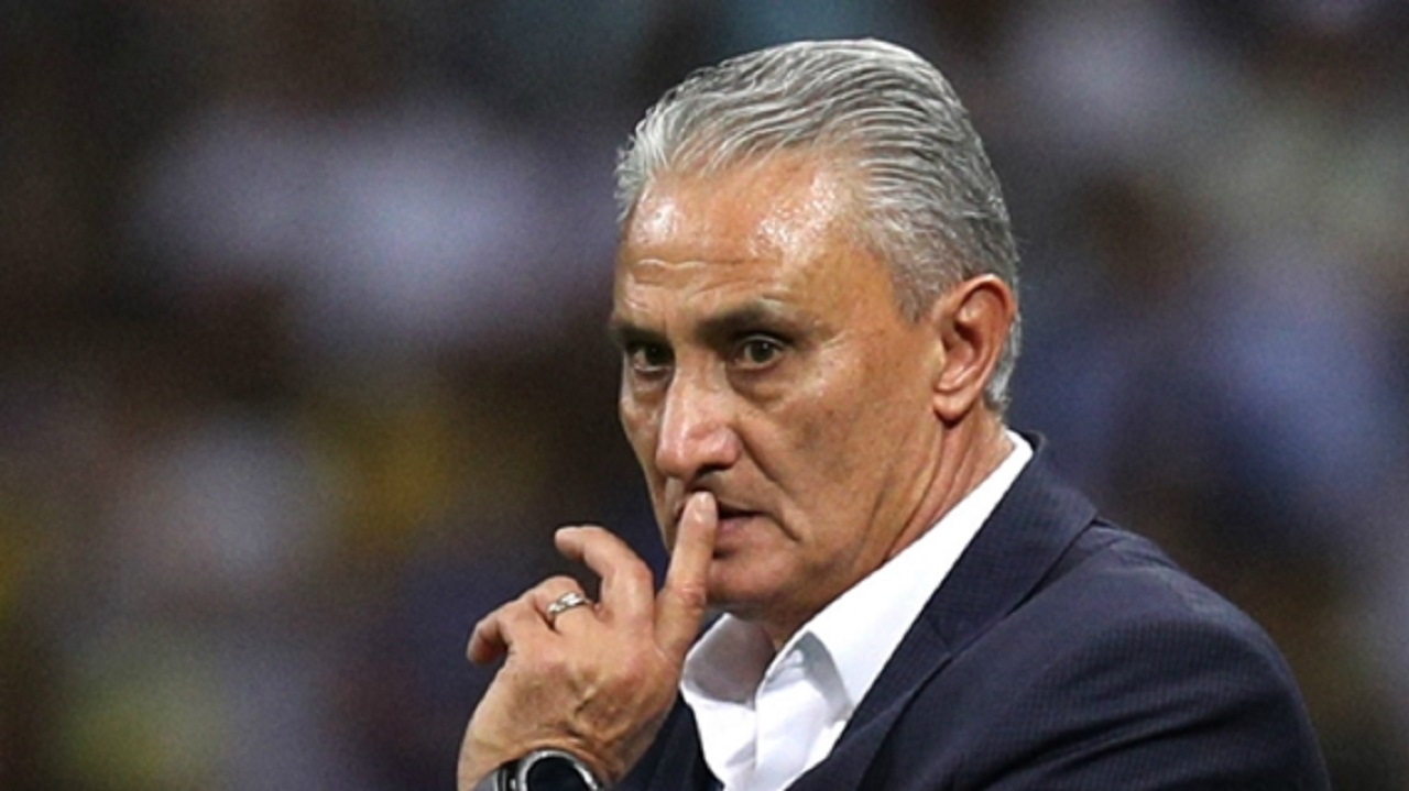 Brazil head coach Tite.